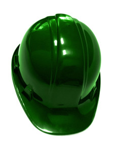 safety personnel hard hat